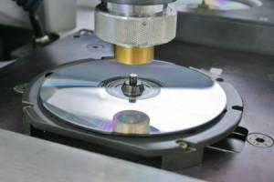 Ein Foto der Datenträger Produktion durch Vectorix Media