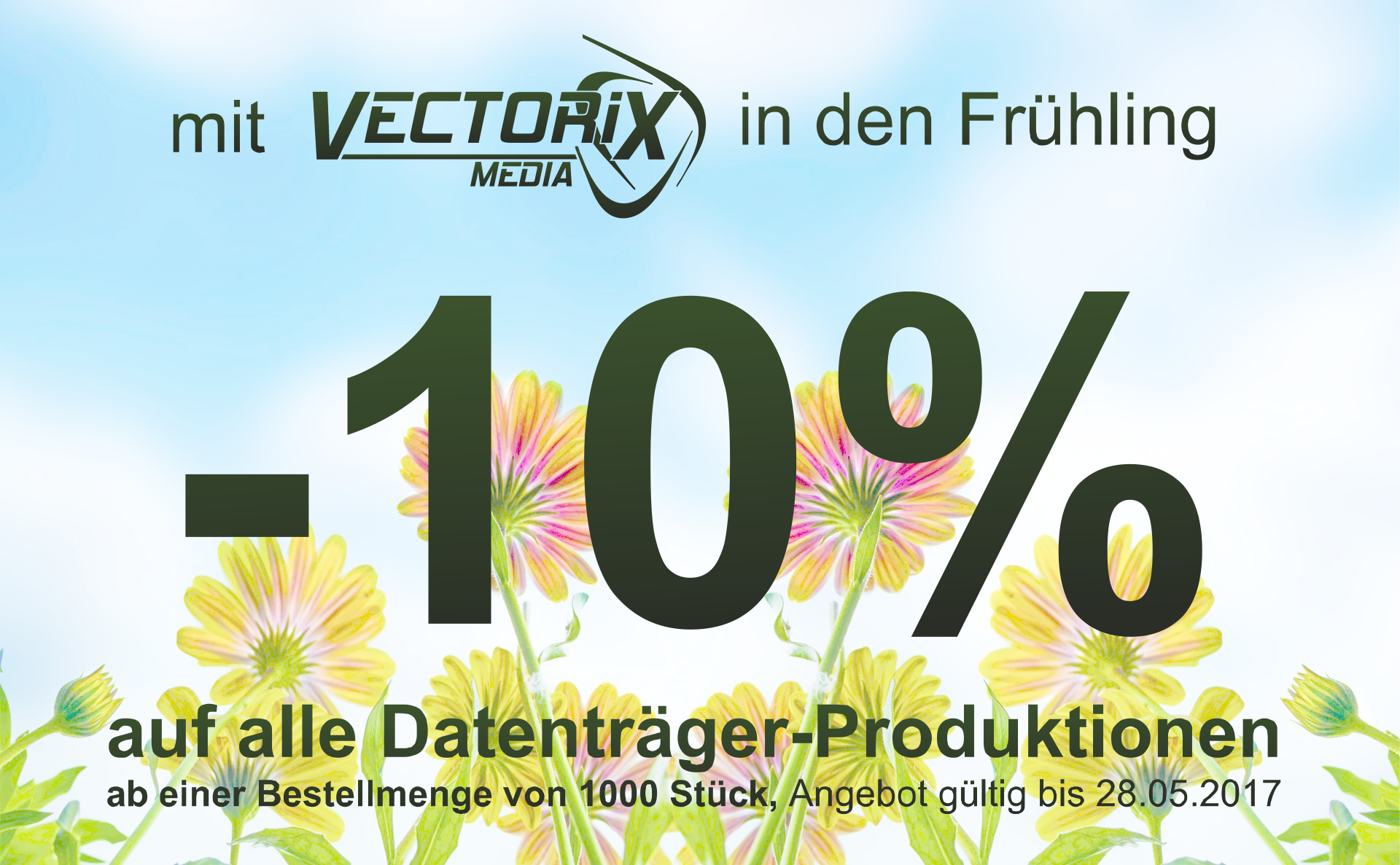 Vectorix Frühlings Aktion 2017